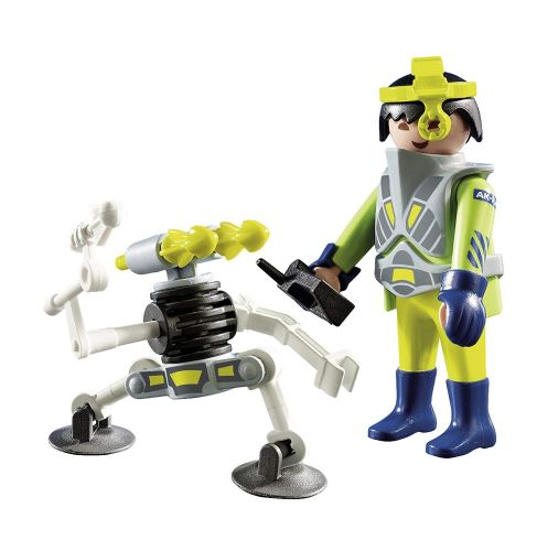 Playmobil 9416 Space Agent with Robot Gift Egg